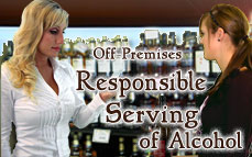 Bartending License, RBS Permit, Responsible Beverage Service (RBS) Training Certificate, RBS certification, ABC accredited RBS training Off-Premises Responsible Serving®